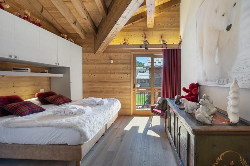 Saint Martin Belleville Luxury Rental Chalet Ipalou Bedroom