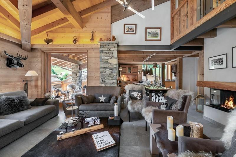 Saint Martin Belleville Luxury Rental Chalet Ipalou Living Room 3