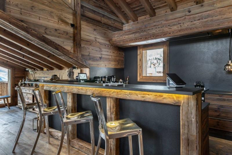 Saint Martin De Belleville Luxury Rental Chalet Ipaliu Kitchen