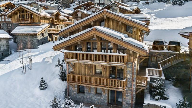 Saint Martin De Belleville Luxury Rental Chalet Ipaliu Exterior