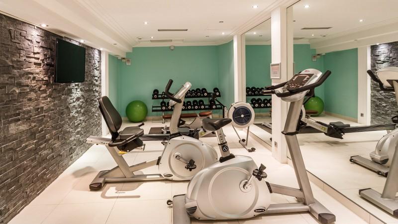 Saint Raphaël Location Appartement Luxe Sérapias Salle De Fitness