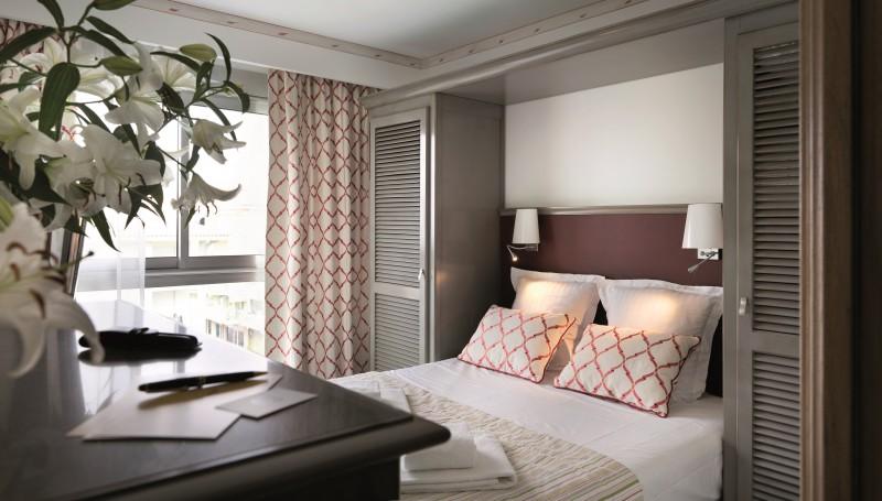 Saint Raphaël Location Appartement Luxe Serrate Chambre