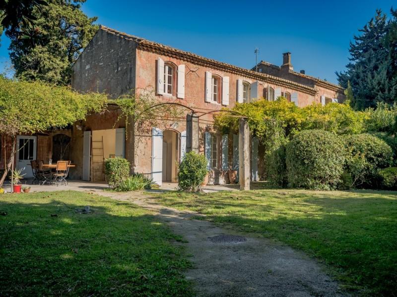Saint Rémy De Provence Location Villa Luxe Mahilia Extérieur