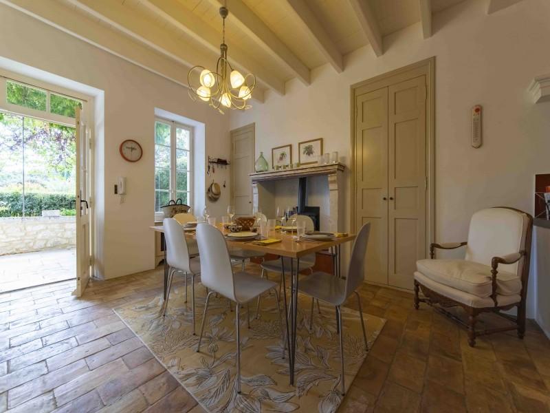 Saint Rémy De Provence Luxury Rental Villa Maho Dining Room