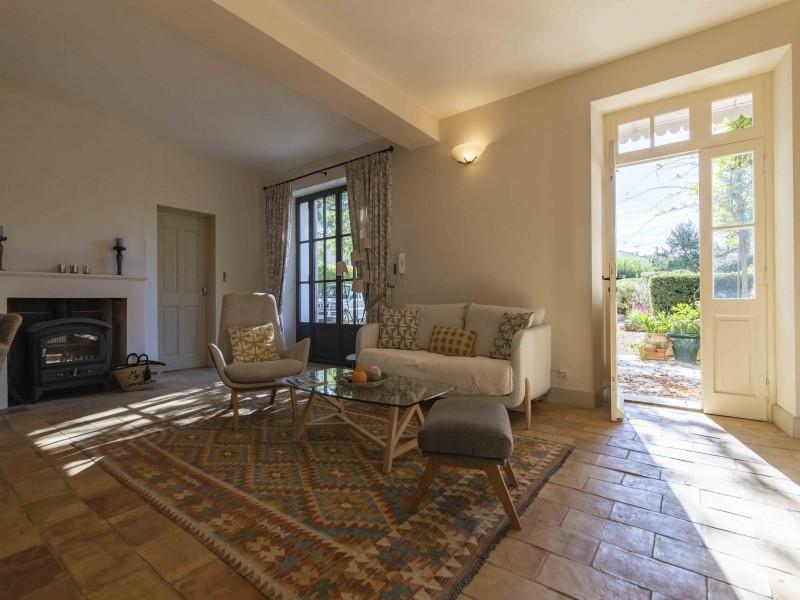 Saint Rémy De Provence Luxury Rental Villa Maho Living Room