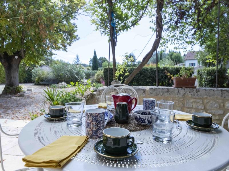 Saint Rémy De Provence Luxury Rental Villa Maho Garden Furniture