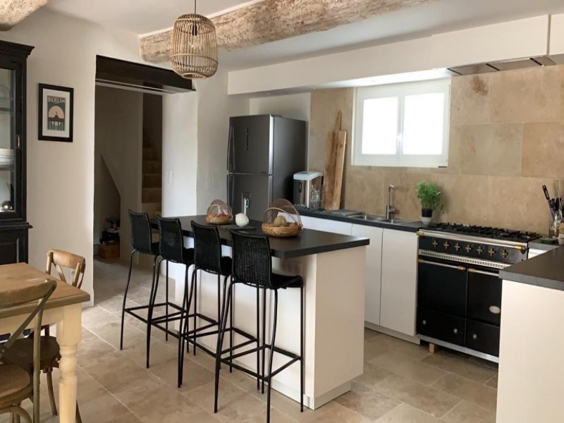 Saint Rémy De Provence Luxury Rental Villa Maladavite Kitchen