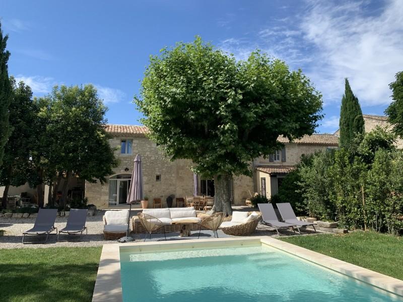 Saint Rémy De Provence Luxury Rental Villa Maladavite Pool 3