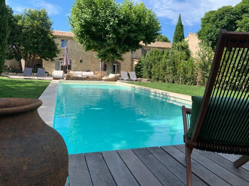 Saint Rémy De Provence Luxury Rental Villa Maladavite Pool 4