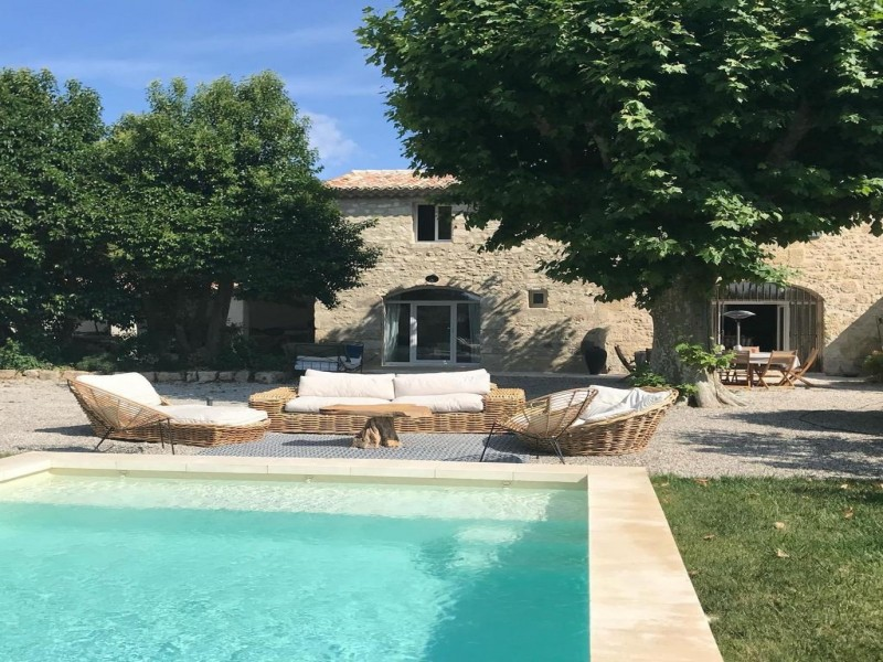 Saint Rémy De Provence Luxury Rental Villa Maladavite Pool 5