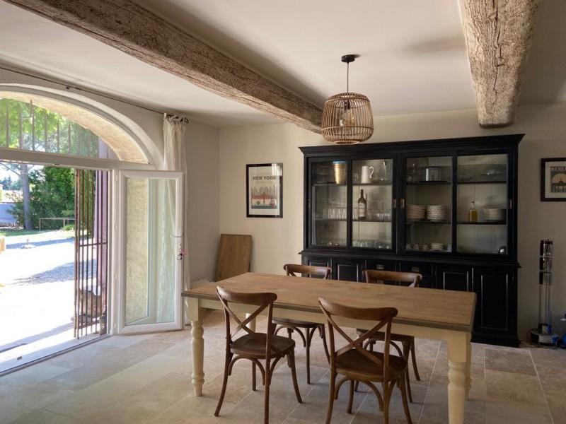 Saint Rémy De Provence Luxury Rental Villa Maladavite Dining Room
