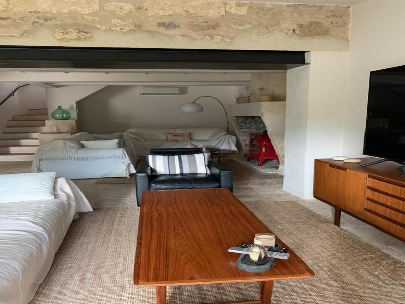 Saint Rémy De Provence Luxury Rental Villa Maladavite Living Room 2