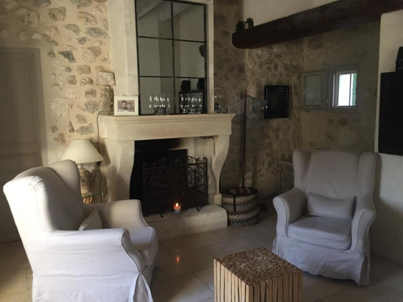 Saint Rémy De Provence Location Villa Luxe Manina Séjour