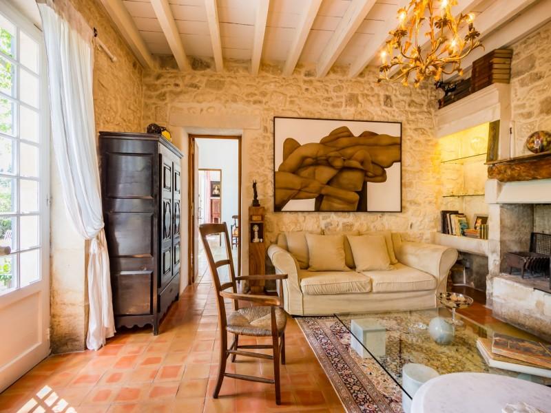 Saint Rémy De Provence Location Villa Luxe Micavite Salon 5