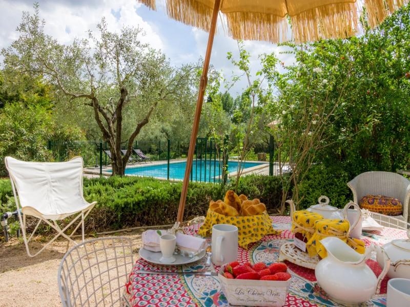 Saint Rémy De Provence Location Villa Luxe Micavite Salon De Jardin