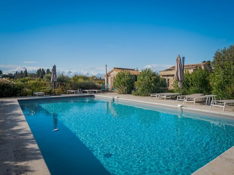 Saint Rémy De Provence Location Villa Luxe Moldavite Piscine 2