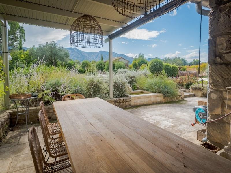 Saint Rémy De Provence Location Villa Luxe Moldavite Salle A Manger Extérieure