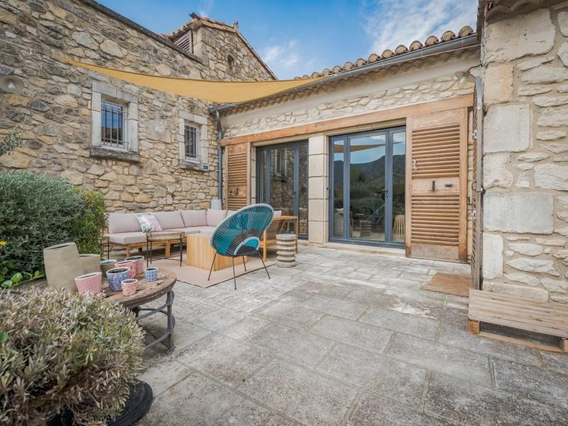 Saint Rémy De Provence Location Villa Luxe Moldavite Terrasse