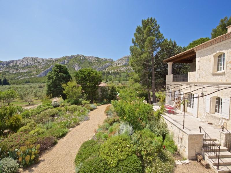Saint Rémy De Provence Location Villa Luxe Molduvite Exterieur