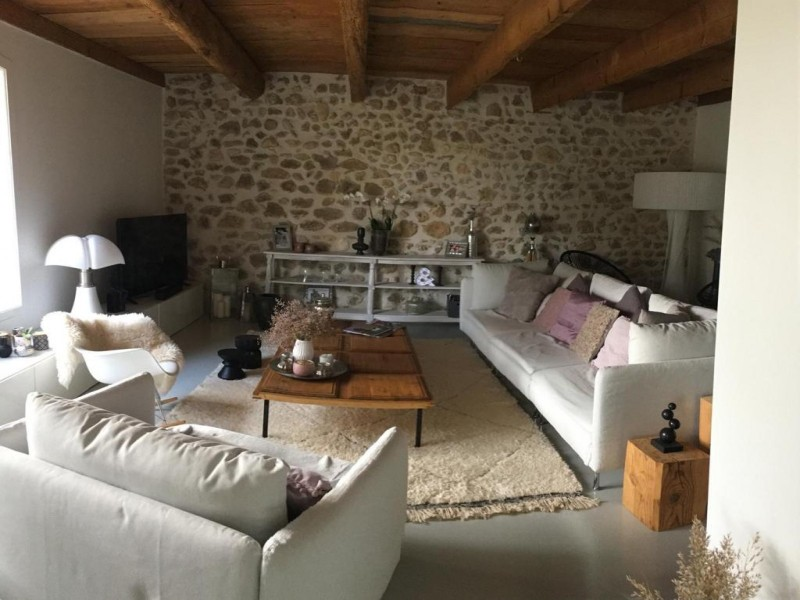 Saint Rémy De Provence Location Villa Luxe Molodavite Salon