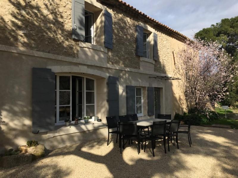 Saint Rémy De Provence Location Villa Luxe Molodavite Table Exterieur