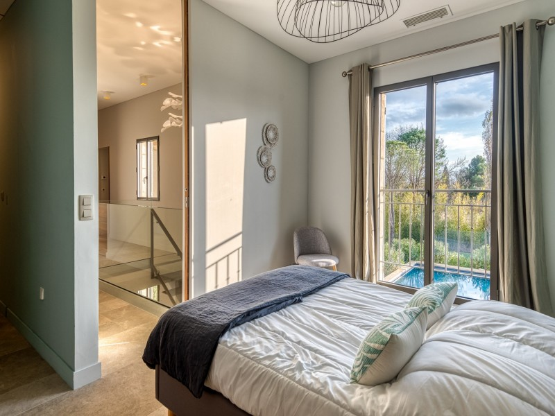 Saint Rémy De Provence Luxury Rental Villa Murcasite Bedroom 4