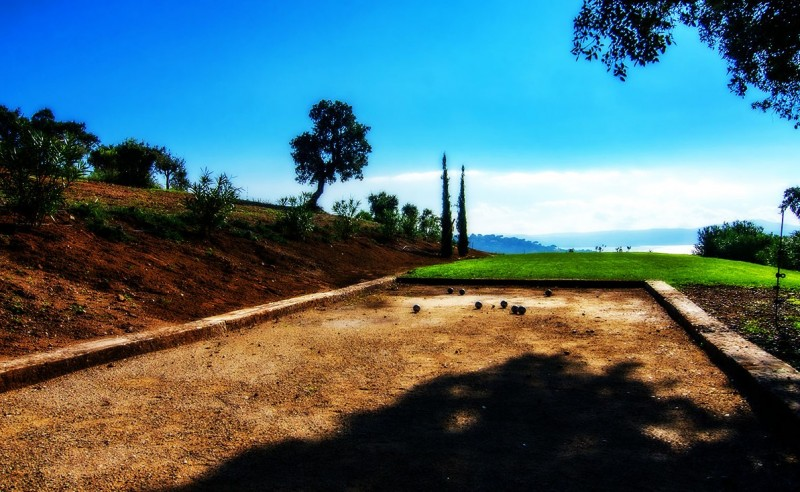 Saint Tropez Location Villa Luxe Serpolat Petanque
