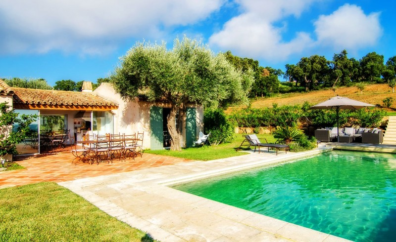 Saint Tropez Location Villa Luxe Serpolat Piscine