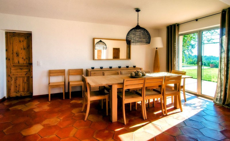 Saint Tropez Location Villa Luxe Serpolat Salle A Manger