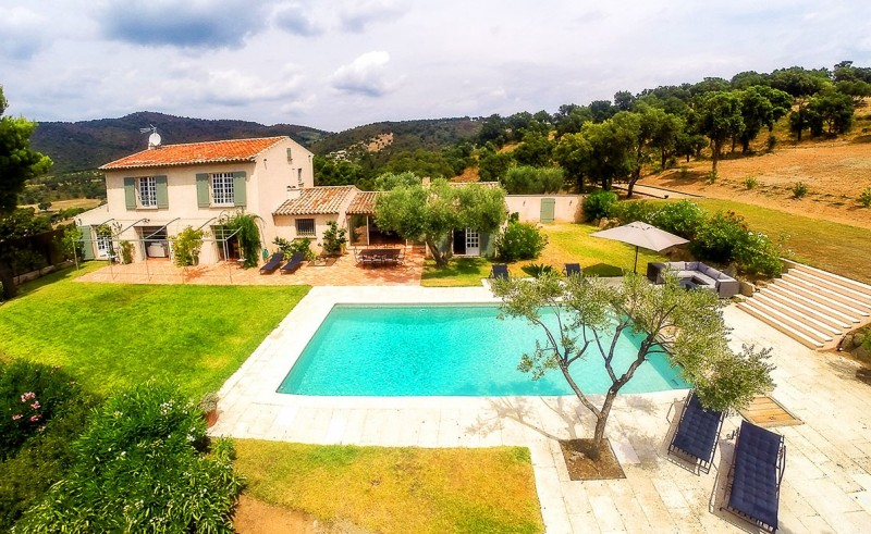 Saint Tropez Location Villa Luxe Serpolat Vue
