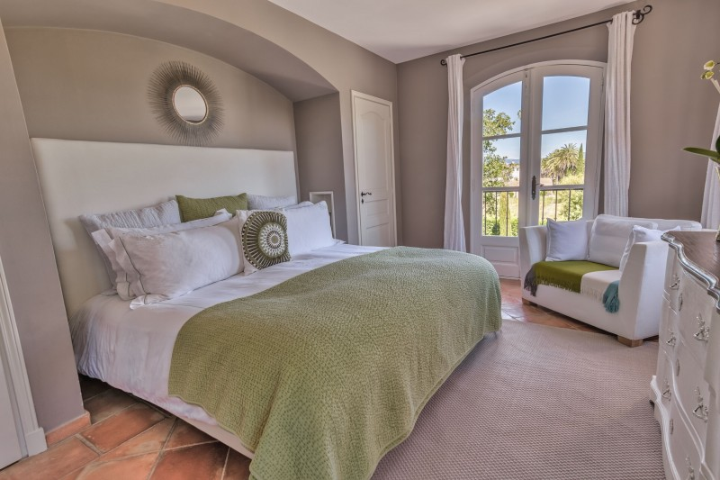 Saint-Tropez Location Villa Luxe Teel Chambre3