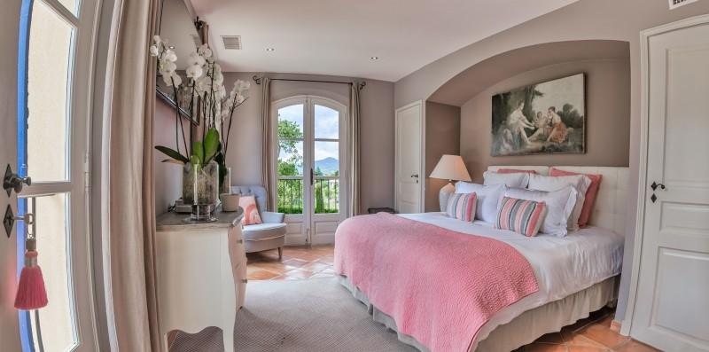 Saint-Tropez Location Villa Luxe Teel Chambre5