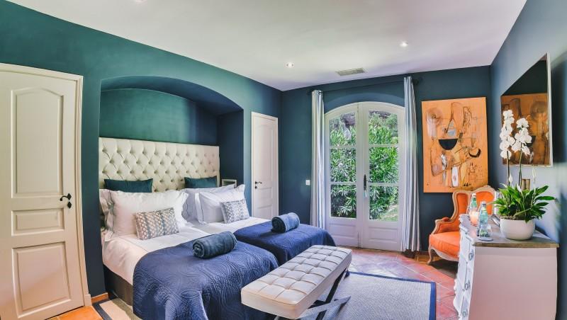 Saint-Tropez Location Villa Luxe Teel Chambre7