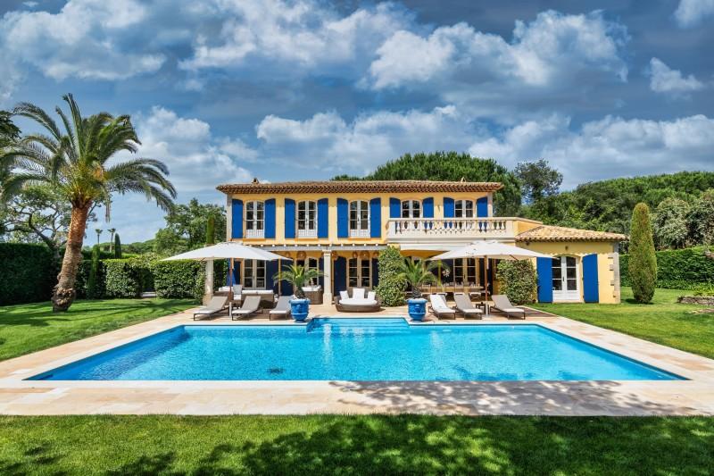Saint-Tropez Location Villa Luxe Teel Extérieur