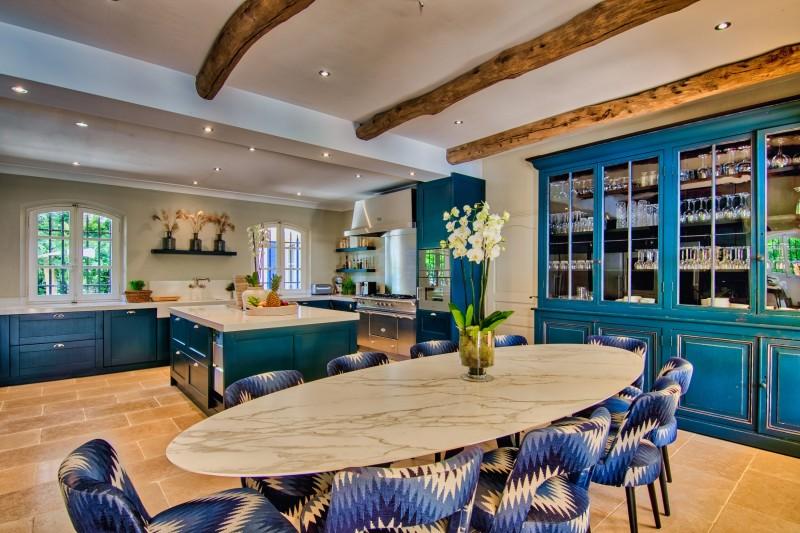 Saint-Tropez Location Villa Luxe Teel Salle A Manger
