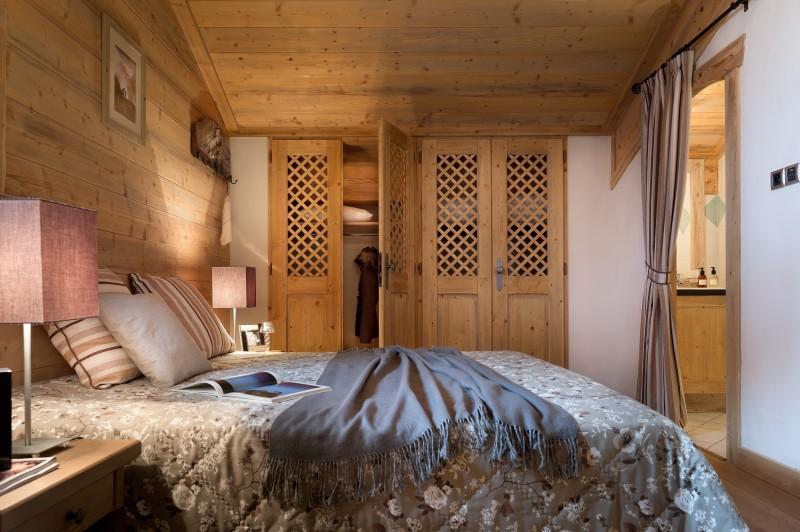 Sainte Foy Tarentaise Location Appartement Luxe Love Stone Chambre