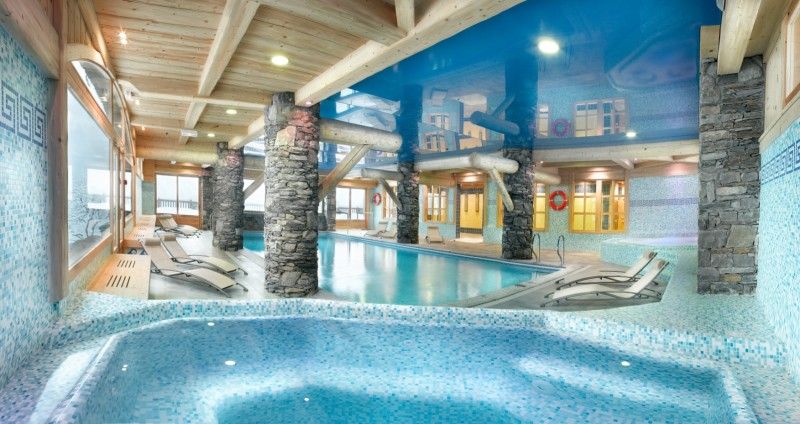 Sainte Foy Tarentaise Location Appartement Luxe Love Stone Duplex Piscine 1