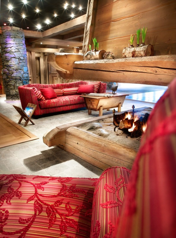 Sainte Foy Tarentaise Location Appartement Luxe Love Stone Duplex Réception