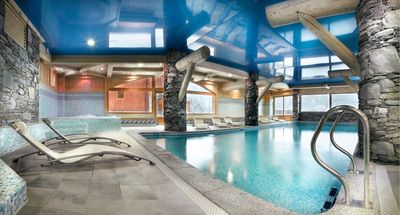 Sainte Foy Tarentaise Location Appartement Luxe Lucky Stone Piscine