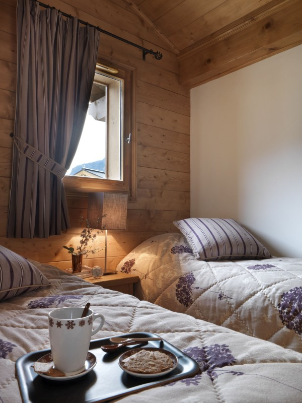 Samoens Location Appartement Luxe Sakal Chambre