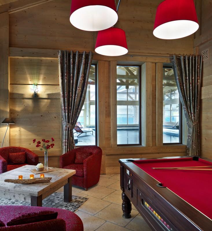 Samoens Location Appartement Luxe Sakal Réception 1