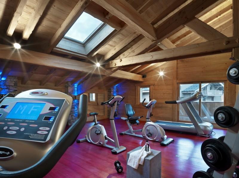 Samoens Location Appartement Luxe Sakal Salle De Fitness