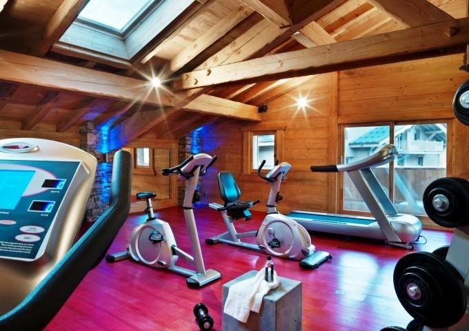 Samoens Location Appartement Luxe Salim Salle De Fitness