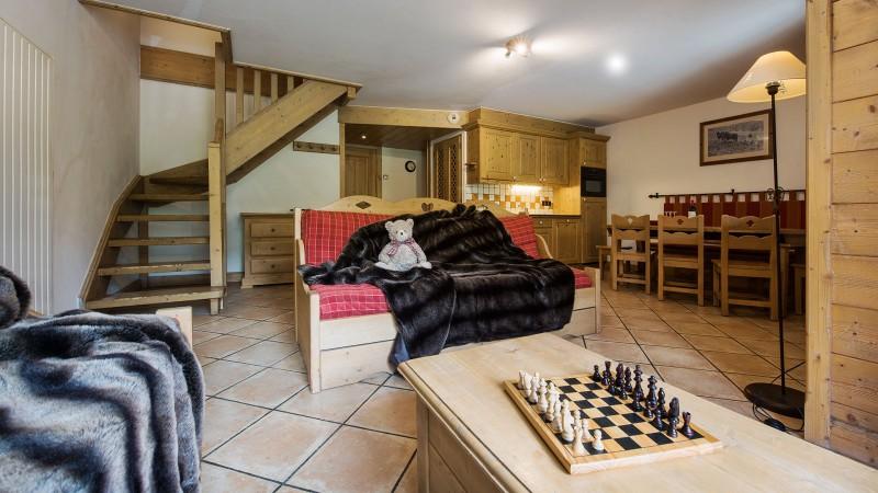 Tignes Location Appartement Luxe Melilite Salon 1