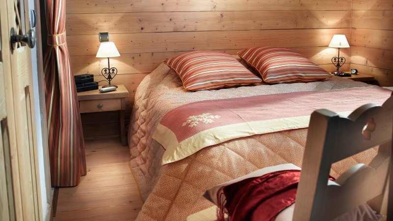 Tignes Location Appartement Luxe Mellow Amber Chambre