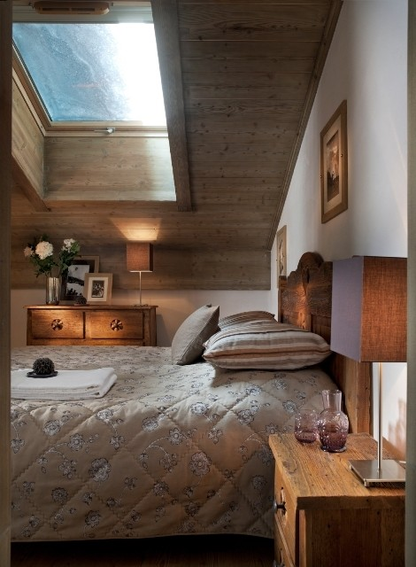 Tignes Location Appartement Luxe Mexican Crysal Chambre