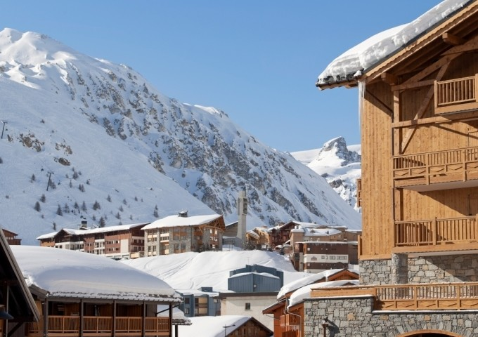 Tignes Location Appartement Luxe Mexican Crysal Extérieur 1
