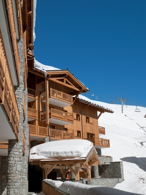 Tignes Location Appartement Luxe Mexican Crysal Extérieur