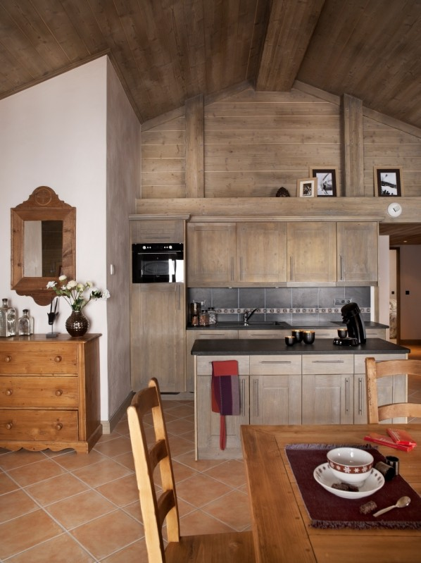 Tignes Location Appartement Luxe Mexican Onyx Duplex Cuisine