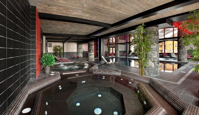 Tignes Location Appartement Luxe Mexican Onyx Duplex Jacuzzi